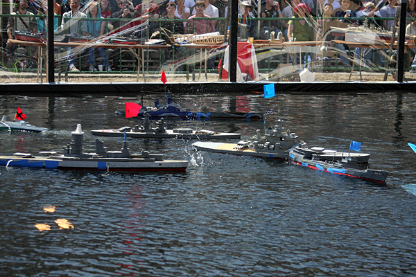 WWCC RC warship combat event, May 17 & 18, 2014 at California Maker Faire